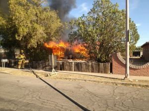 Fire destroys Tucson home