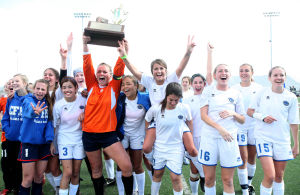 High school girls soccer championship