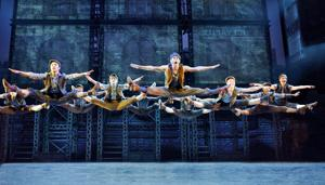 Review: Choreography makes 'Newsies' enjoyable