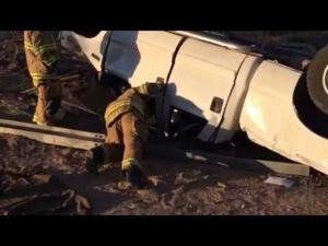 Crash video near Marana, Arizona