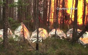 NASA working to improve wildland fire shelters