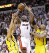 NBA Playoffs Heat 99, Pacers 76 Stars align for Heat