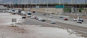 Photos: Floods in Phoenix closes several major roads