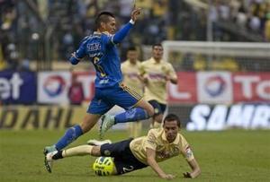 América derrota 1-0 a Tigres en el Clausura mexicano