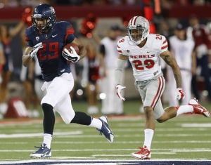 UA football: Hill produces in return