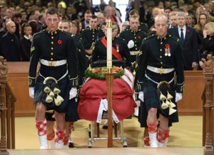 Photos: Funeral for Cpl. Nathan Cirillo