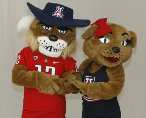 Photos: Wilbur and Wilma Wildcat through the years