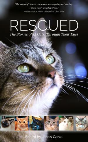 Book about rescued cats to benefit Tucson  no-kill shelter