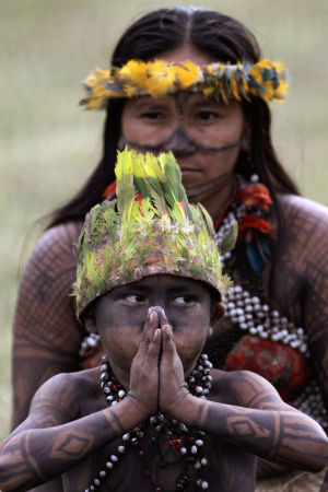 Photo of the day: Brazil Indians Belo Monte