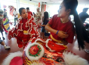 Dragonboat Festival brings Lion Dancers