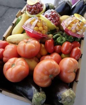Produce distribution locations, Nov. 1