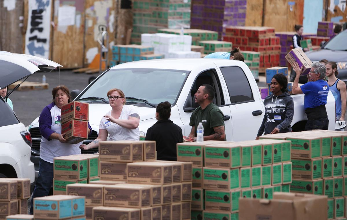 photos girl scout cookies arrive in tucson news