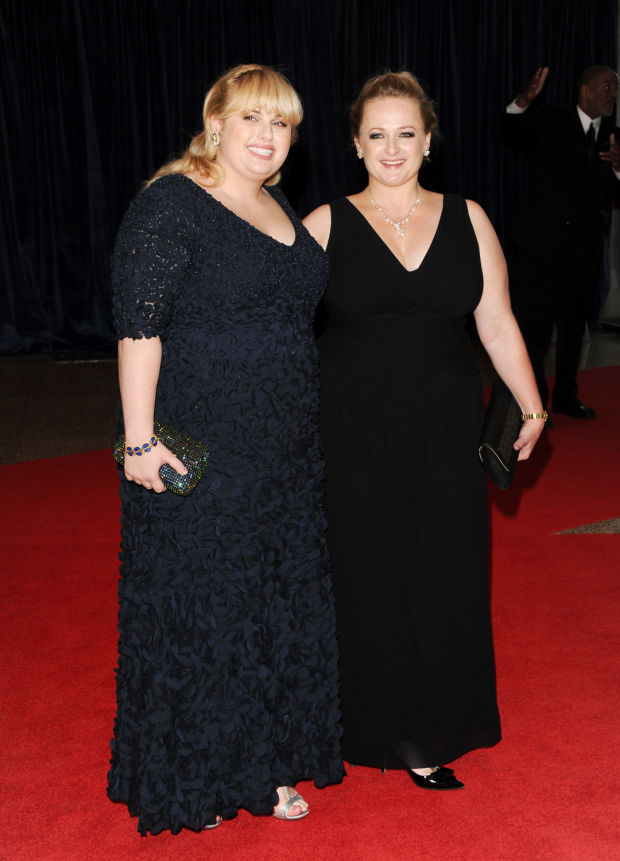 Photo of Rebel Wilson & her Sister  Liberty Wilson