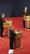 Images from past presidential debates