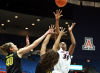 Women's basketball: Arizona 100, Oregon 68: White leads UA's 3-point barrage in rout of Ducks