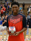 Wildcats' Johnson follows Gordon's USA Basketball footsteps