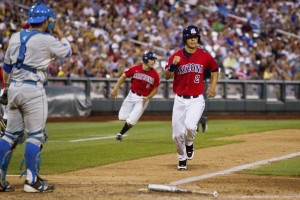 College World Series: Arizona 4, UCLA 0: Quiet Wade silences UCLA