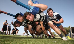 Photos: UA Rugby club team