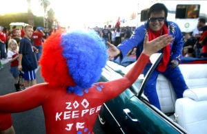 Photos: UA Homecoming parade