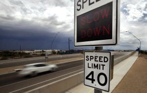 Road Runner: Digital signs monitor motorists' speed