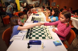 Photos: Girls chess tournament