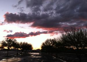 Storm moves on; brought steady rain to Tucson