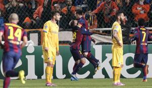 Messi tritura el récord de Raúl