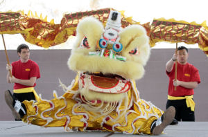 Partying like it's the Chinese New Year in Tucson