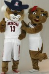 Wilbur and Wilma Wildcat through the years