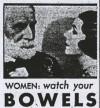 Women: Watch your BOWELS