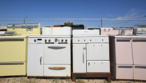 Vintage appliances with high-end appeal