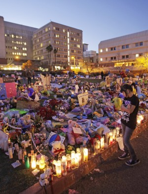Shrines pop up across city in colorful displays of caring