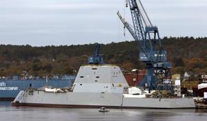 Photos: Testing Navy's deadly stealth destroyer