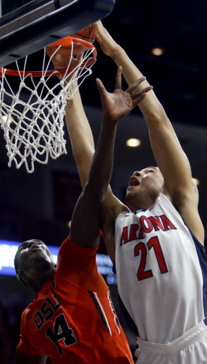 UA basketball: Cats dam up Beavers