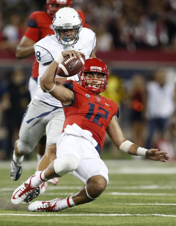 UA football: Report card for Nevada game