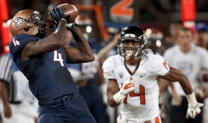 Beavers score late, edge Arizona Wildcats 38-35