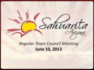 Sahuarita budget gets council OK