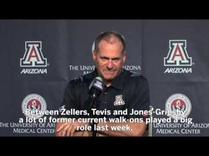 UA football press conference: Undefeated Wildcats face USC