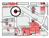 Club crawl: map and schedule