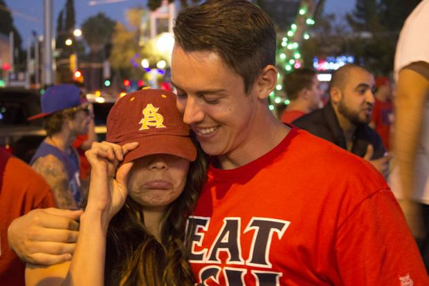 Photos: Fan reactions to UA's win over ASU
