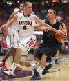 Arizona Wildcats beat Augustana College 84-52