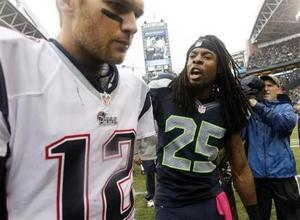 Sherman y los Seahawks sacan ventaja en habladurías