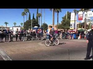 Videos: Watch Philip Tinstman ride into first place