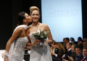 Photos: The rainbow wedding fashion show
