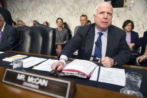 John McCain calls Code Pink protesters 'low-life scum'