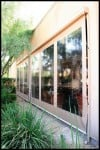patio rollershades (vinyl & canvas)
