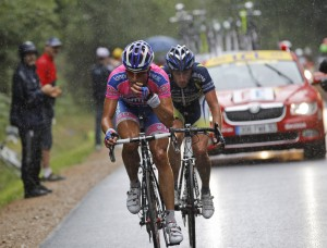 Tour de France: Top riders play it safe on latest 'nervous stage'