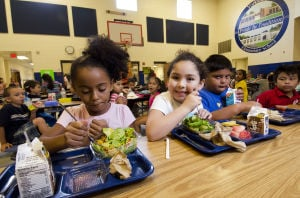 Some schools take a pass on free meals