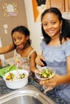 Kids create fresh meal, snack ideas