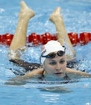 Swimming: Tucsonan Caitlin Leverenz in finals for 200M IM